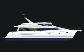 62 Feet Pilothouse Yacht